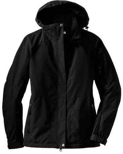 Port Authority-Ladies All-Season II Jacket-XS-Black-Thread Logic