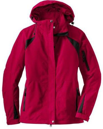 Port Authority-Ladies All-Season II Jacket-XS-Red-Thread Logic