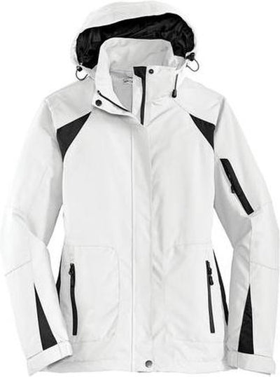 Port Authority-Ladies All-Season II Jacket-XS-White-Thread Logic