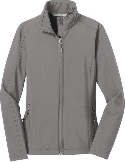 Port Authority-Ladies Core Soft Shell Jacket-XS-Deep Smoke-Thread Logic