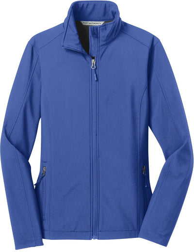 Port Authority-Ladies Core Soft Shell Jacket-XS-True Royal-Thread Logic