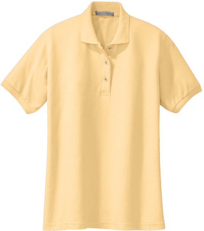 Port Authority-Ladies Silk Touch Polo-XS-Banana-Thread Logic
