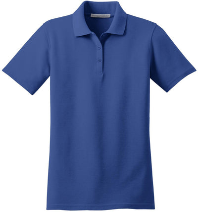 Port Authority-Ladies Stain-Resistant Polo-XS-Royal-Thread Logic
