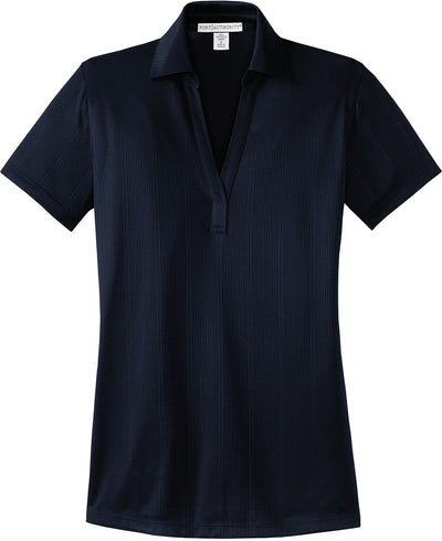Ladies Fine Jacquard Polo