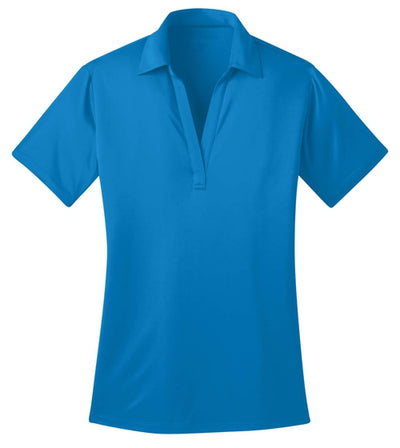 Port Authority-Ladies Silk Touch Performance-XS-Brilliant Blue-Thread Logic