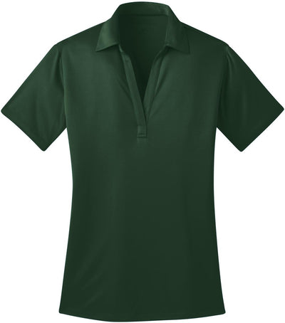 Port Authority-Ladies Silk Touch Performance-XS-Dark Green-Thread Logic