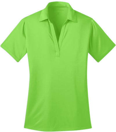 Port Authority-Ladies Silk Touch Performance-XS-Lime Green-Thread Logic