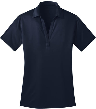 Port Authority-Ladies Silk Touch Performance-XS-Navy-Thread Logic