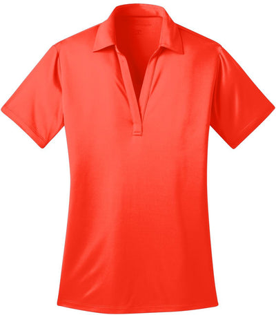 Port Authority-Ladies Silk Touch Performance-XS-Neon Orange-Thread Logic