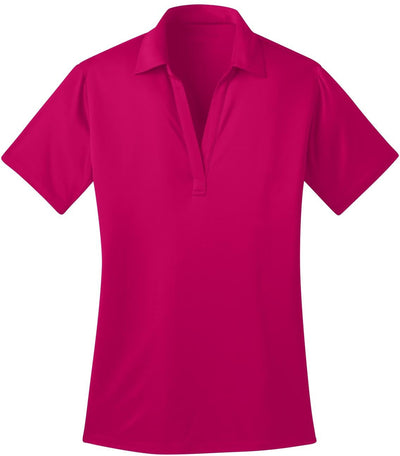 Port Authority-Ladies Silk Touch Performance-XS-Pink Raspberry-Thread Logic