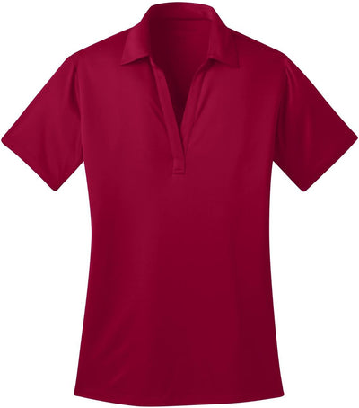 Port Authority-Ladies Silk Touch Performance-XS-Red-Thread Logic