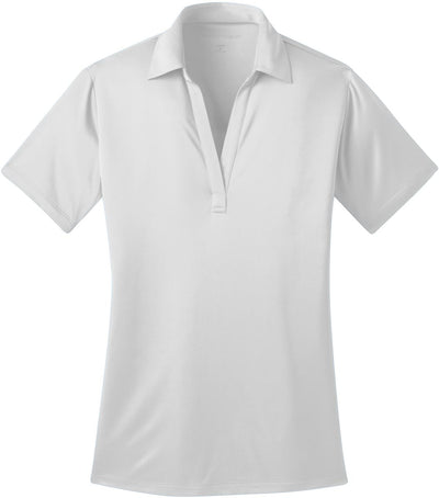 Port Authority-Ladies Silk Touch Performance-XS-White-Thread Logic