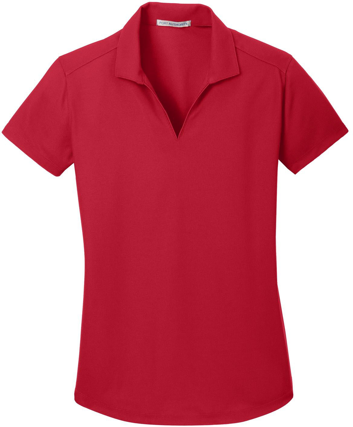Port Authority-Ladies Dry Zone Grid Polo-XS-Engine Red-Thread Logic