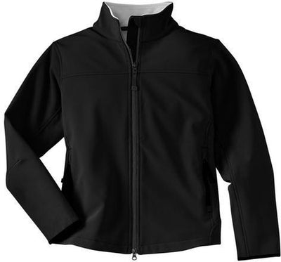 Port Authority-Ladies Glacier Soft Shell-XS-Black-Thread Logic