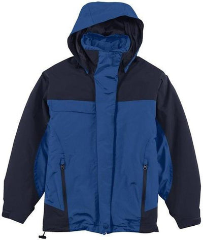 Port Authority-Ladies Nootka Jacket-XS-Regatta Blue/Navy-Thread Logic