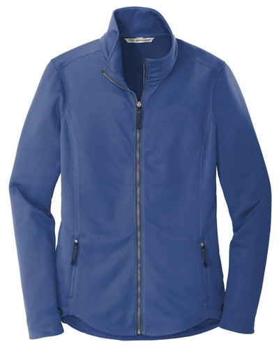 Port Authority-Ladies Collective Smooth Fleece Jacket-XS-Night Sky Blue-Thread Logic