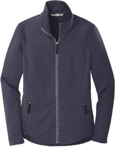 Port Authority-Ladies Collective Smooth Fleece Jacket-XS-River Blue-Thread Logic