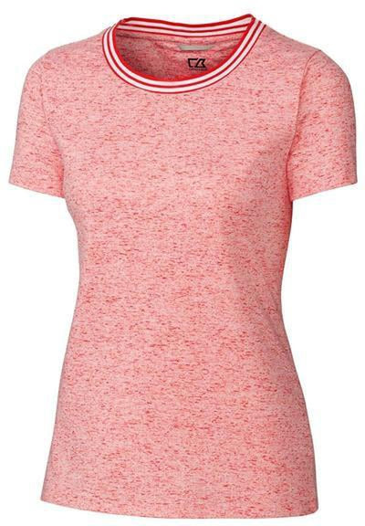 Cutter&Buck Ladies Advantage Space Dye Tee-S-Alarm-Thread Logic