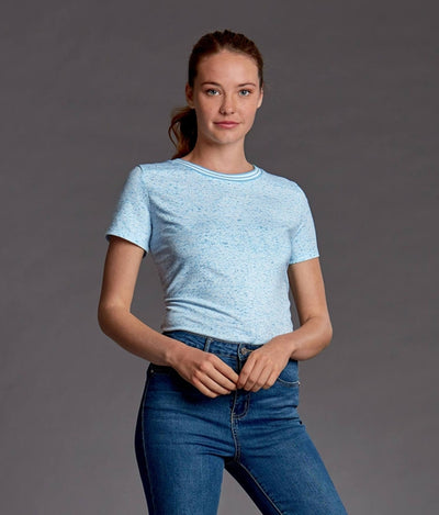 Cutter&Buck Ladies Advantage Space Dye Tee-Thread Logic no-logo