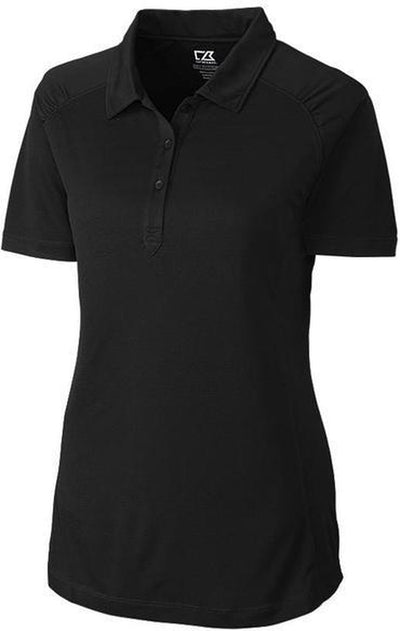 Cutter&Buck Ladies DryTec Northgate Polo-XS-Black-Thread Logic