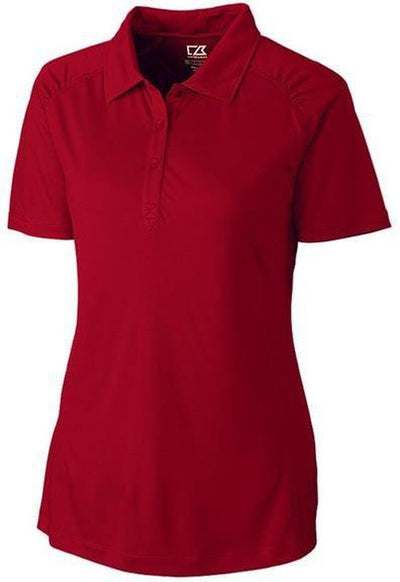 Cutter&Buck Ladies DryTec Northgate Polo-XS-Cardinal Red-Thread Logic