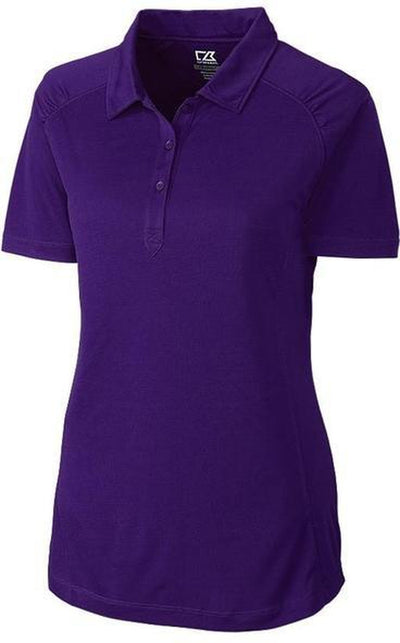 Cutter&Buck Ladies DryTec Northgate Polo-XS-College Purple-Thread Logic