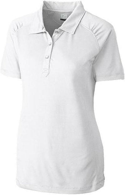 Cutter&Buck Ladies DryTec Northgate Polo-XS-White-Thread Logic