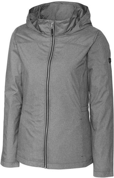 Cutter&Buck Ladies L/S Panoramic Packable Jacket-XS-Black-Thread Logic