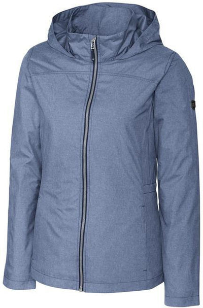 Cutter&Buck Ladies L/S Panoramic Packable Jacket-XS-Liberty Navy-Thread Logic