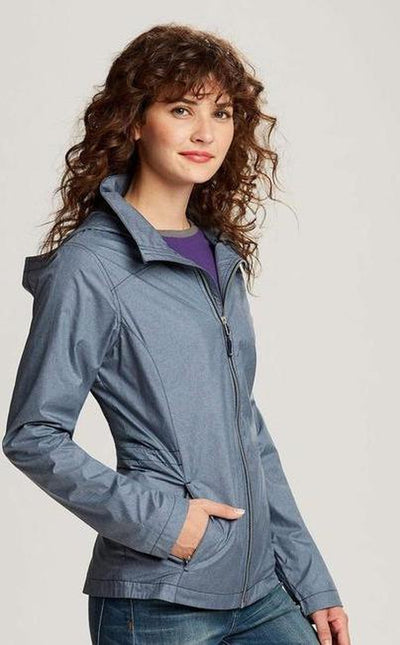Cutter&Buck Ladies L/S Panoramic Packable Jacket-Thread Logic no-logo