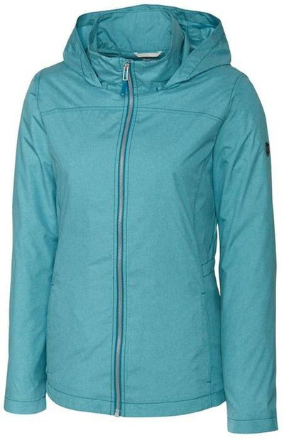 Cutter&Buck Ladies L/S Panoramic Packable Jacket-XS-Teal Blue-Thread Logic