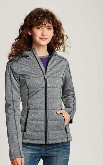 Cutter&Buck Ladies Altitude Quilted Jacket-Thread Logic no-logo