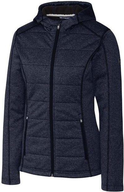 Cutter&Buck Ladies Altitude Quilted Jacket-XS-Liberty Navy-Thread Logic