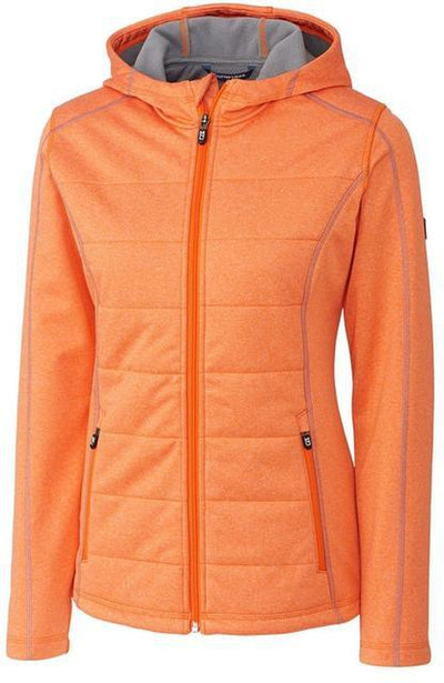 Cutter&Buck Ladies Altitude Quilted Jacket-XS-Satsuma-Thread Logic