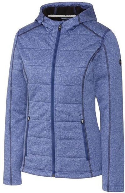 Cutter&Buck Ladies Altitude Quilted Jacket-XS-Tour Blue-Thread Logic
