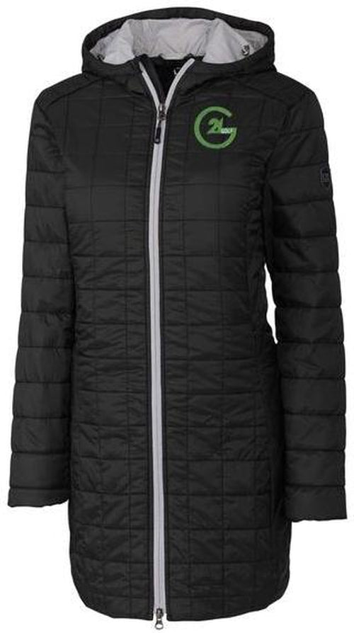 Cutter&Buck Ladies Rainer Long Jacket-Thread Logic no-logo