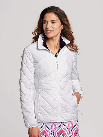 Cutter&Buck Ladies Lt Wt Sandpoint Quilted Jacket-Thread Logic no-logo