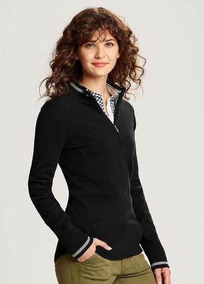 Cutter&Buck Ladies Lakemont Tipped Half Zip-Thread Logic