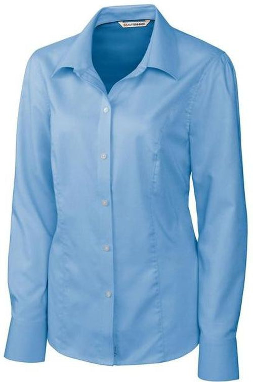 Cutter&Buck Ladies L/S Epic Easy Care Nailshead-XS-Atlas-Thread Logic