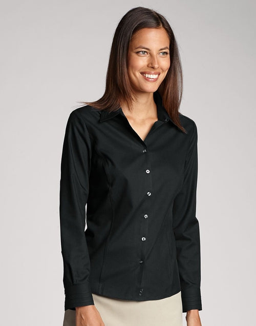 Cutter&Buck Ladies Easy Care Fine Twill-XS-Black-Thread Logic