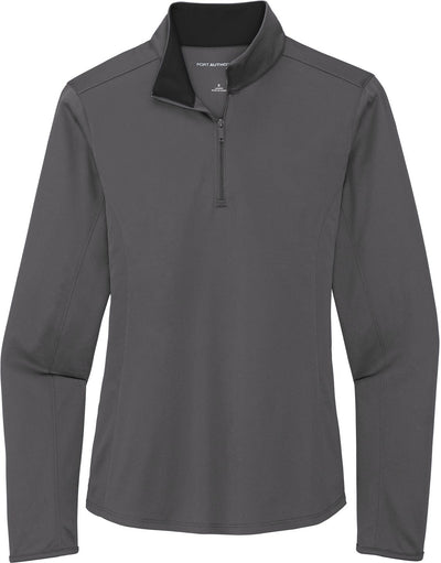 Port Authority Ladies Silk Touch Performance 1/4-Zip