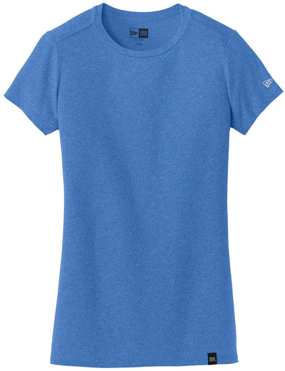 New Era Ladies Heritage Blend Crew Tee-XS-Royal Heather-Thread Logic
