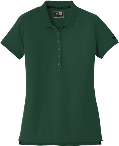 Dark Green New Era Ladies Venue Home Plate Polo