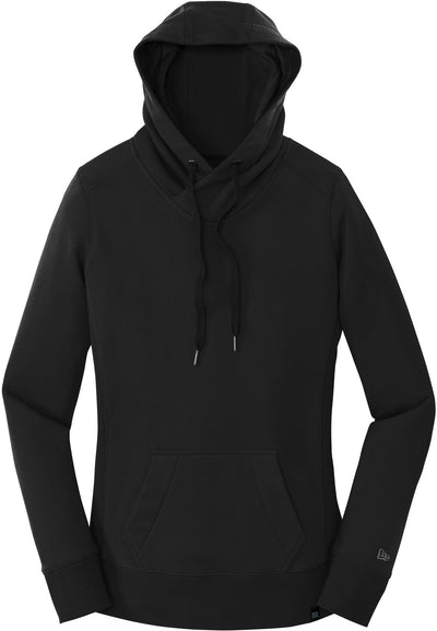 New Era Ladies French Terry Pullover Hoodie-XS-Black-Thread Logic