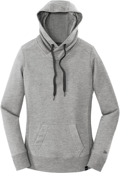 New Era Ladies French Terry Pullover Hoodie-XS-Light Graphite Twist-Thread Logic