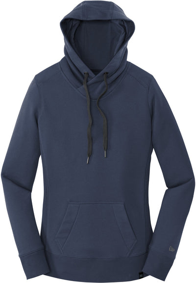 New Era Ladies French Terry Pullover Hoodie-XS-True Navy-Thread Logic