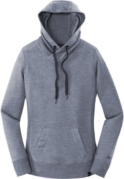 New Era Ladies French Terry Pullover Hoodie-XS-True Navy Twist-Thread Logic
