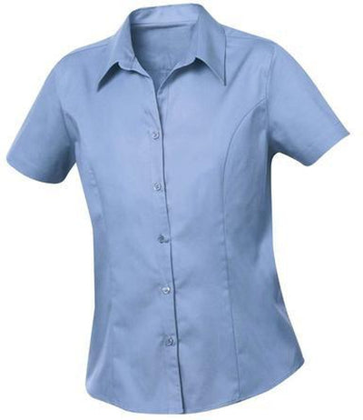 Clique Ladies Caitlin S/S Easy Care-XS-Indigo-Thread Logic