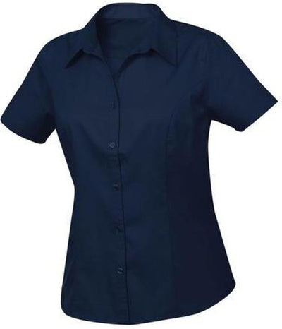 Navy Clique Ladies Caitlin S/S Easy Care