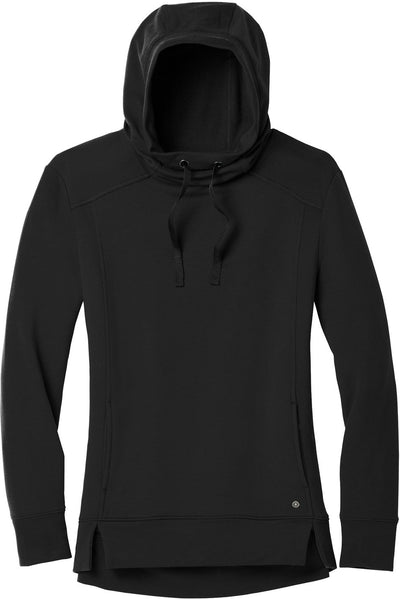 OGIO Ladies Luuma Pullover Fleece Hoodie-XS-Blacktop-Thread Logic